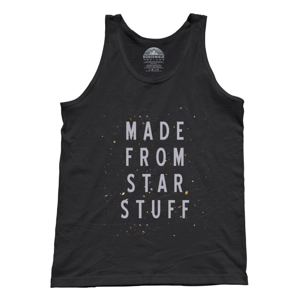 Unisex Made From Star Stuff Astronomy Tank Top