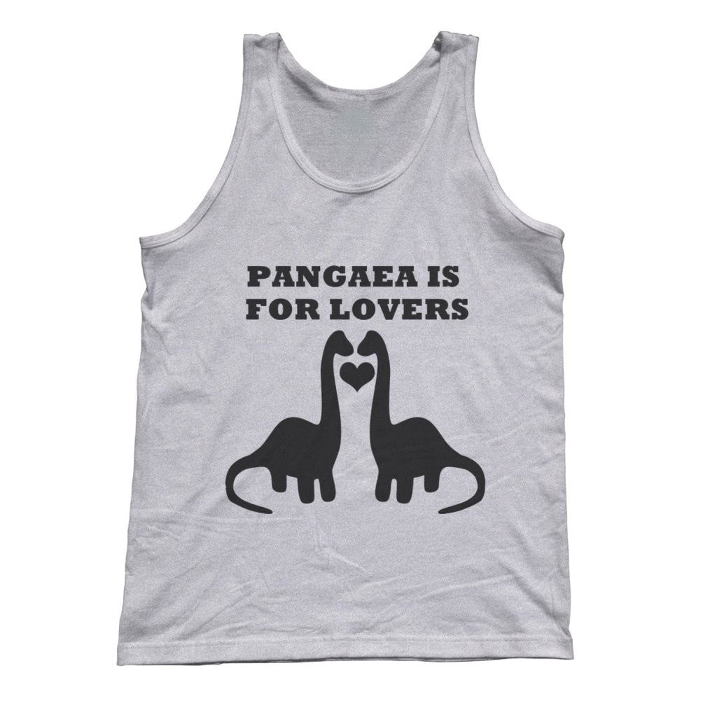 Unisex Pangaea Is For Lovers Funny Dinosaur Tank Top Paleontology