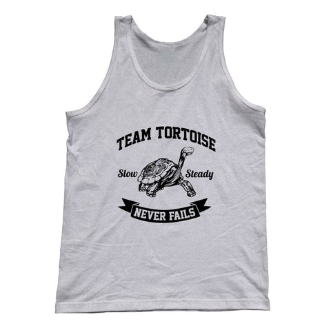Unisex Slow And Steady Tortoise Tank Top