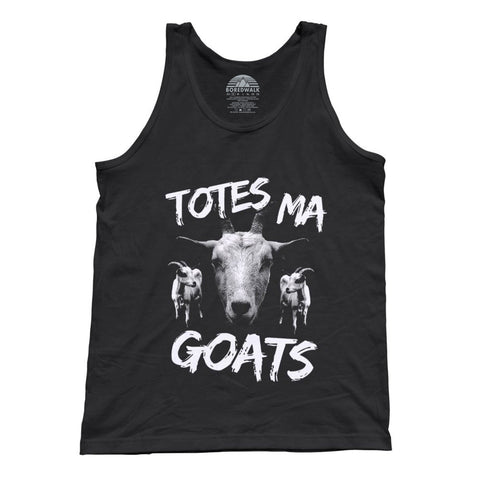 Unisex Totes Ma Goats Tank Top Funny Goat