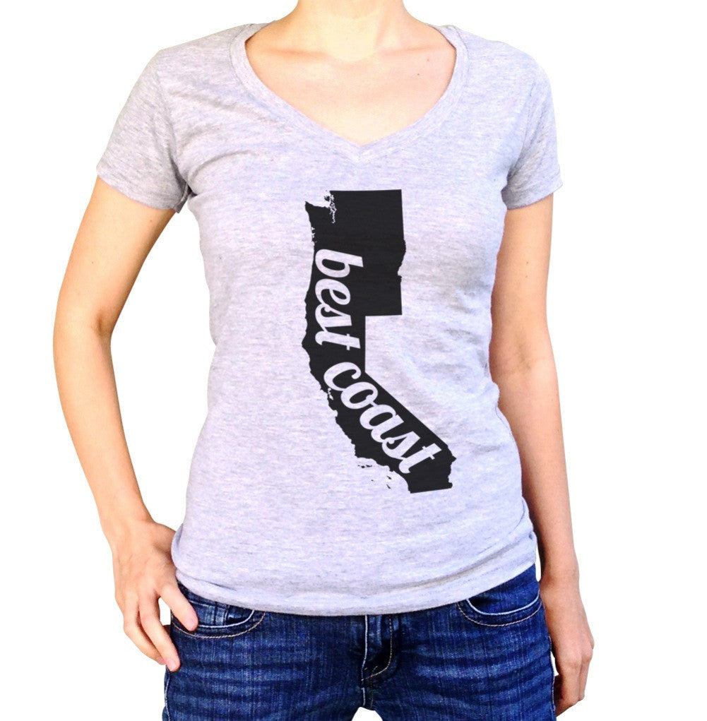 Women's Best Coast Vneck T-Shirt