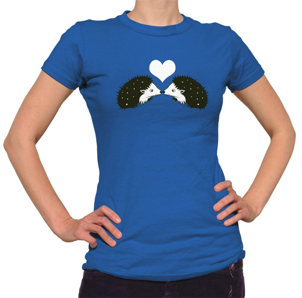 Women's Hedgehogs In Love T-Shirt