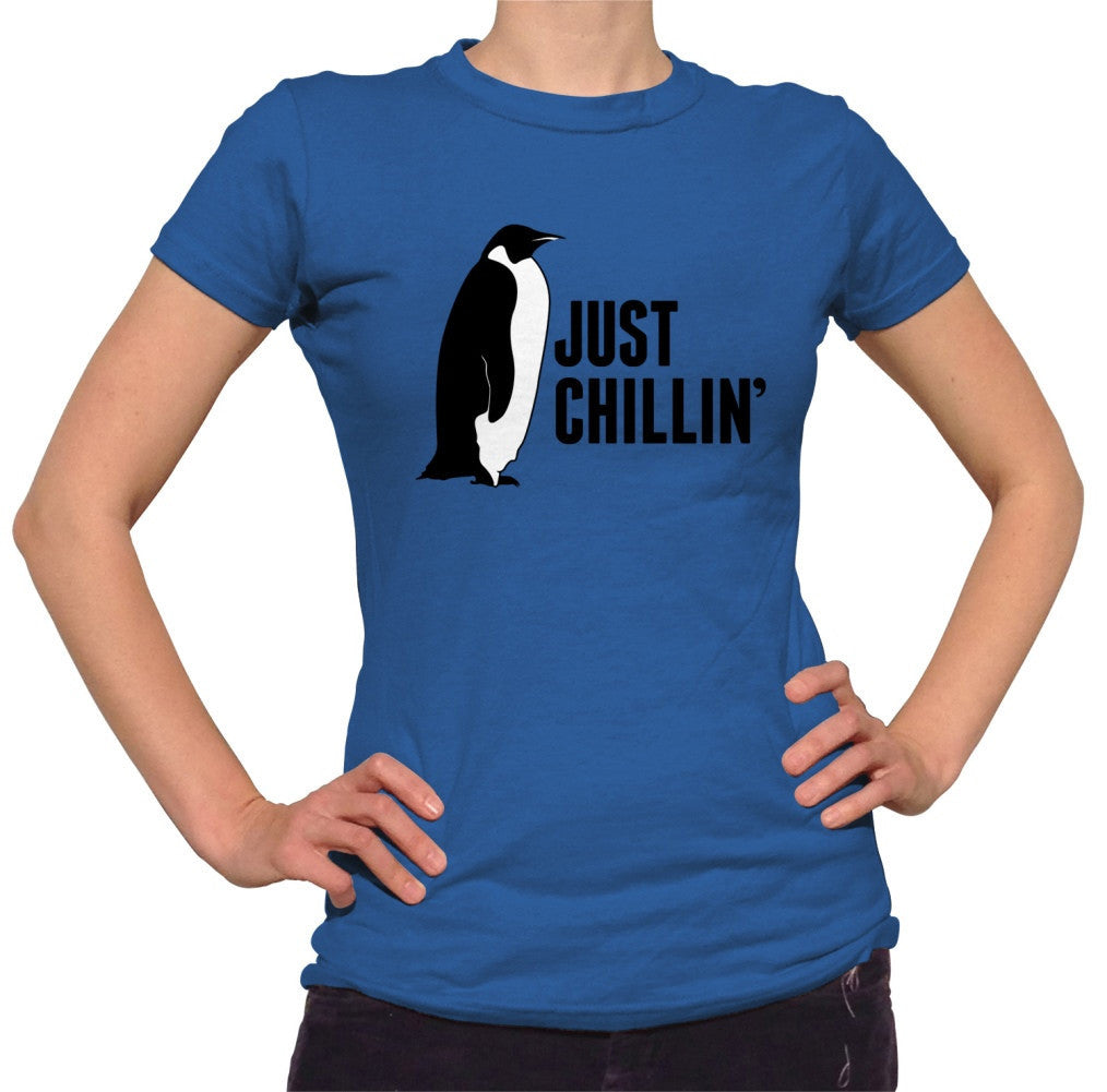 Women's Just Chillin' Penguin T-Shirt