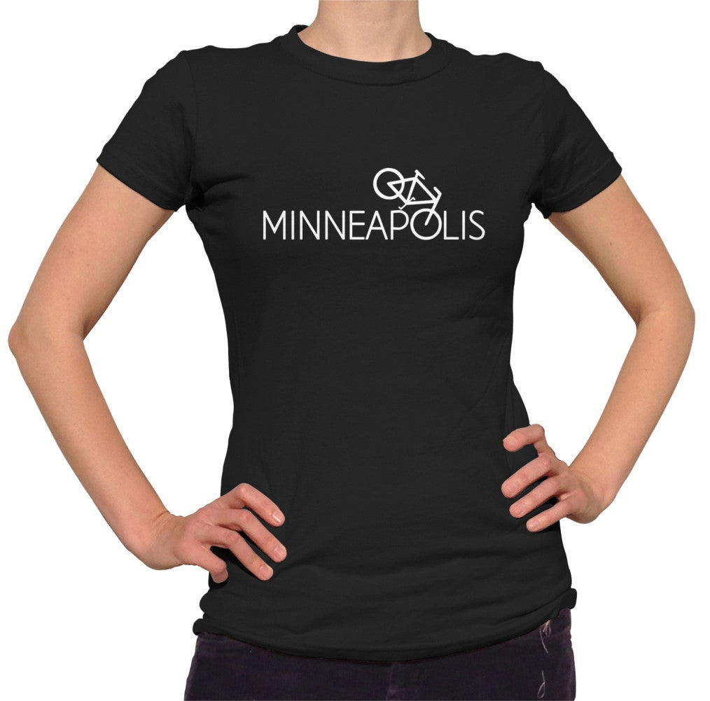 Women's Minneapolis Bike T-Shirt