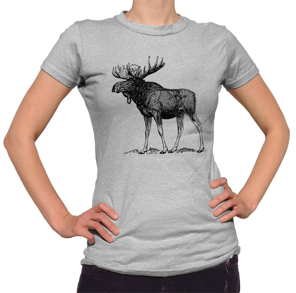Women's Moose T-Shirt