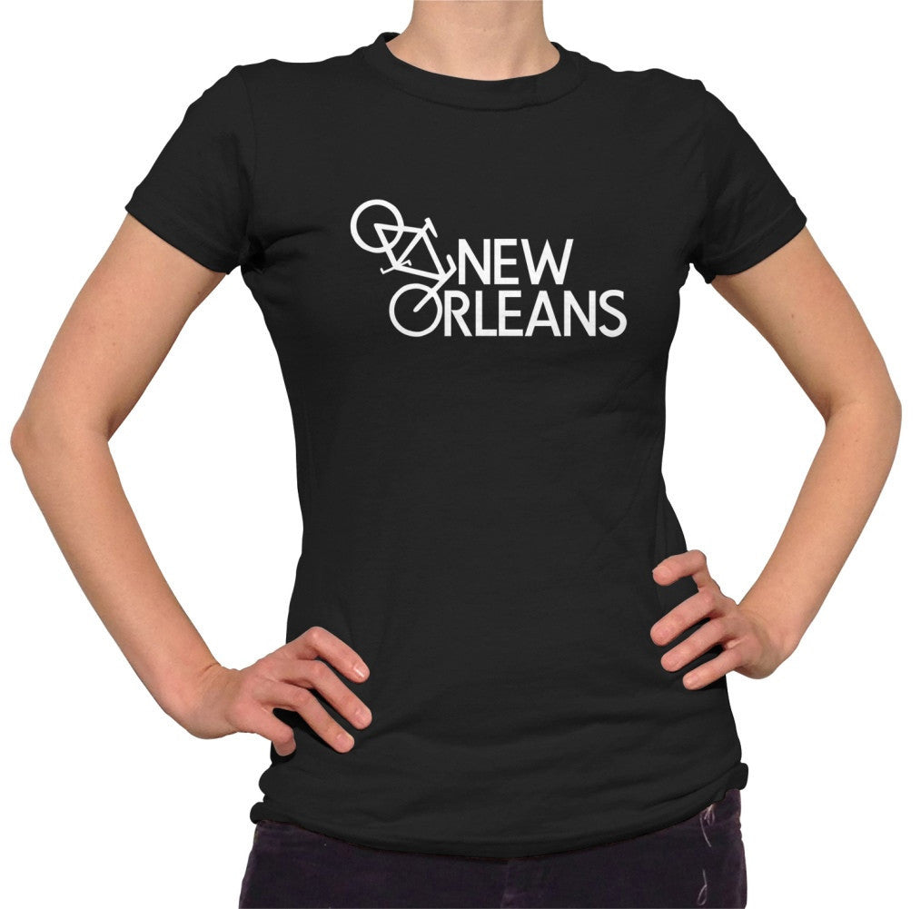 Women's New Orleans Bike T-Shirt
