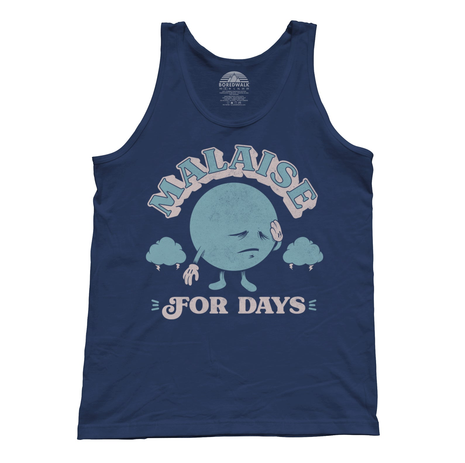 Unisex Malaise For Days Tank Top