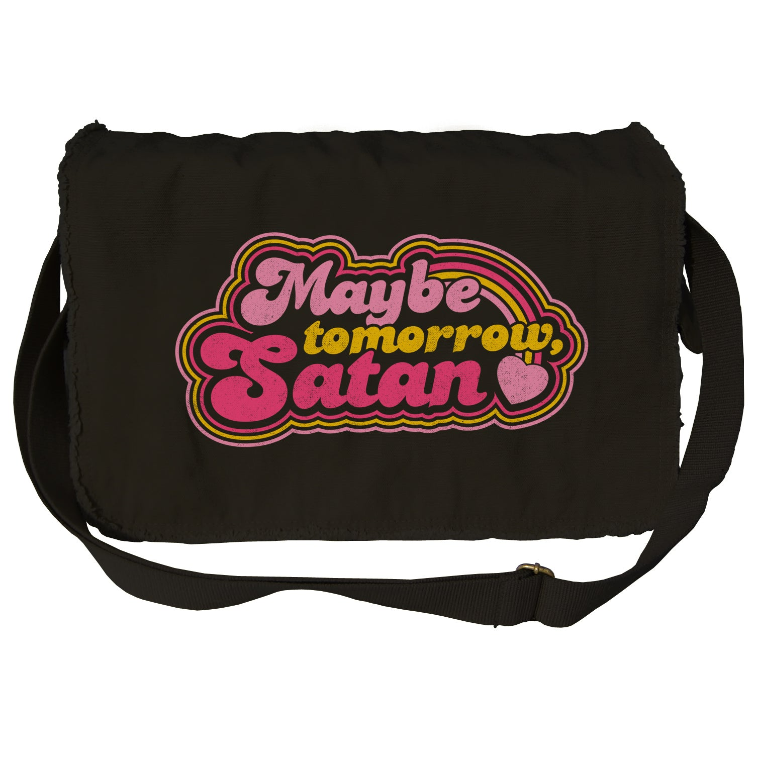 Maybe Tomorrow Satan Messenger Bag