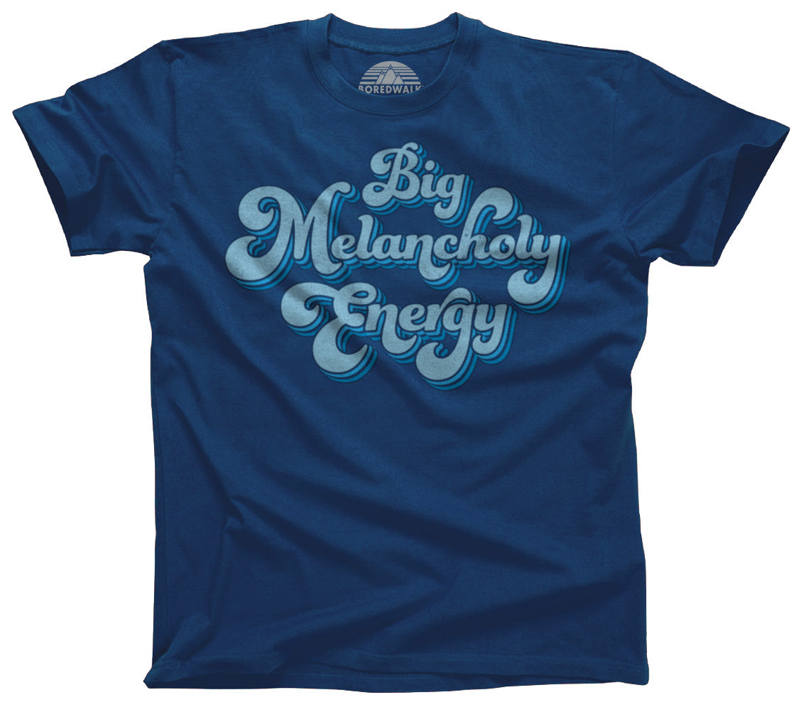 Men's Big Melancholy Energy T-Shirt