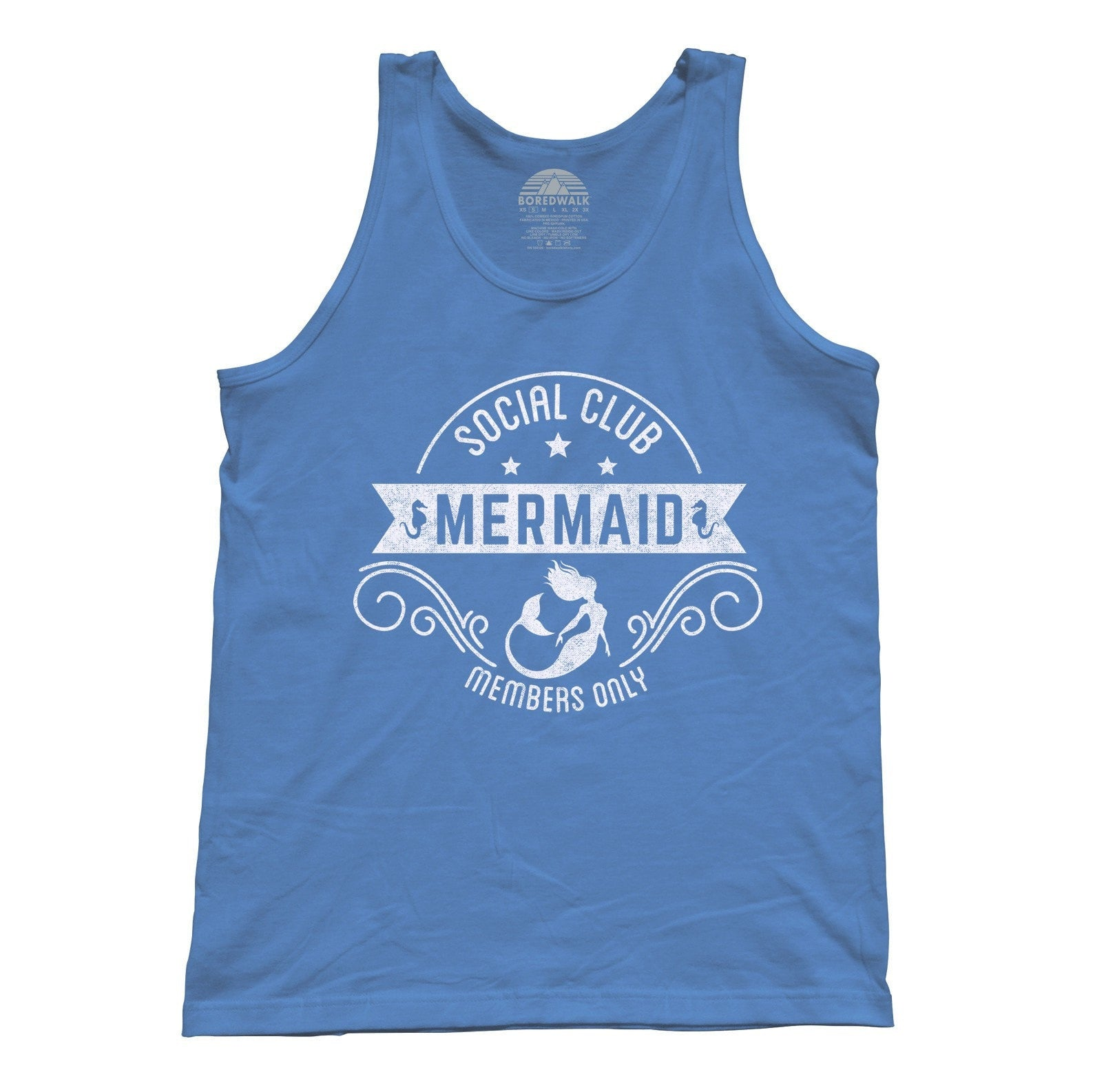 Unisex Mermaid Social Club Tank Top