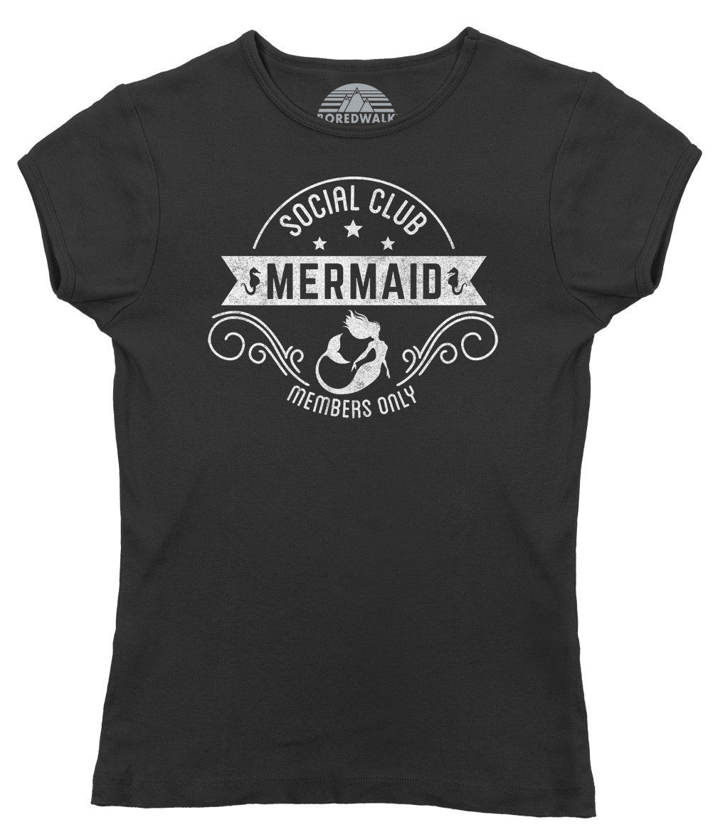 Women's Mermaid Social Club T-Shirt
