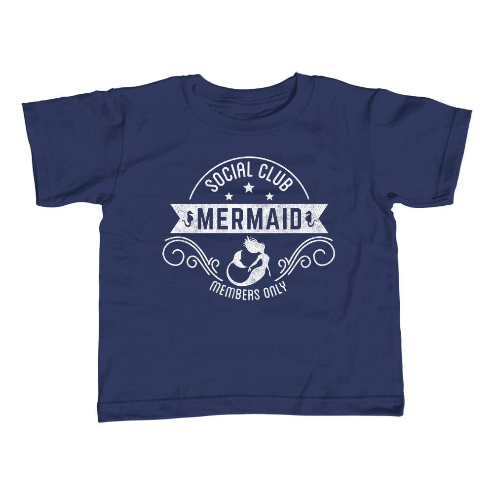 Girl's Mermaid Social Club T-Shirt - Unisex Fit