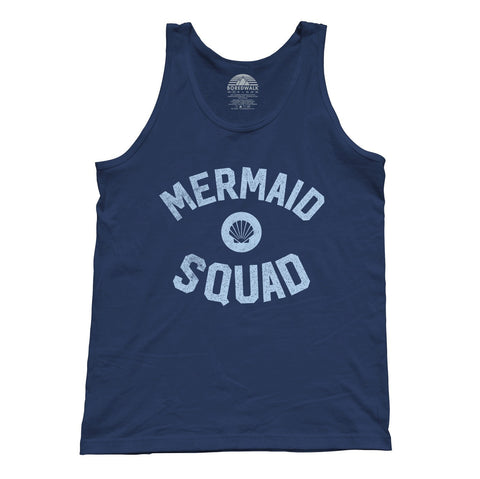 Unisex Mermaid Squad Tank Top