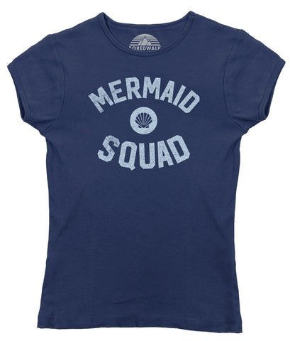 Women's Mermaid Squad T-Shirt - Juniors Fit
