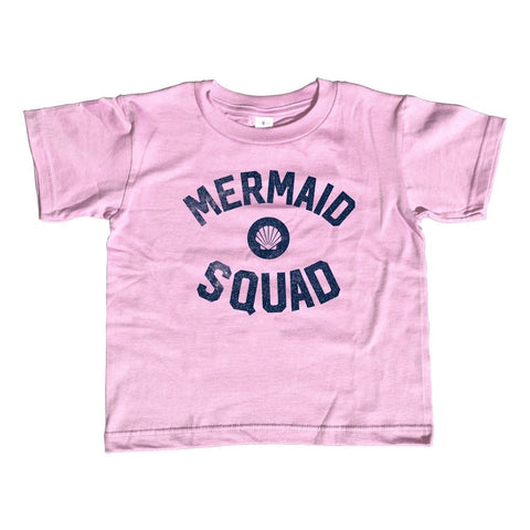 Girl's Mermaid Squad T-Shirt - Unisex Fit