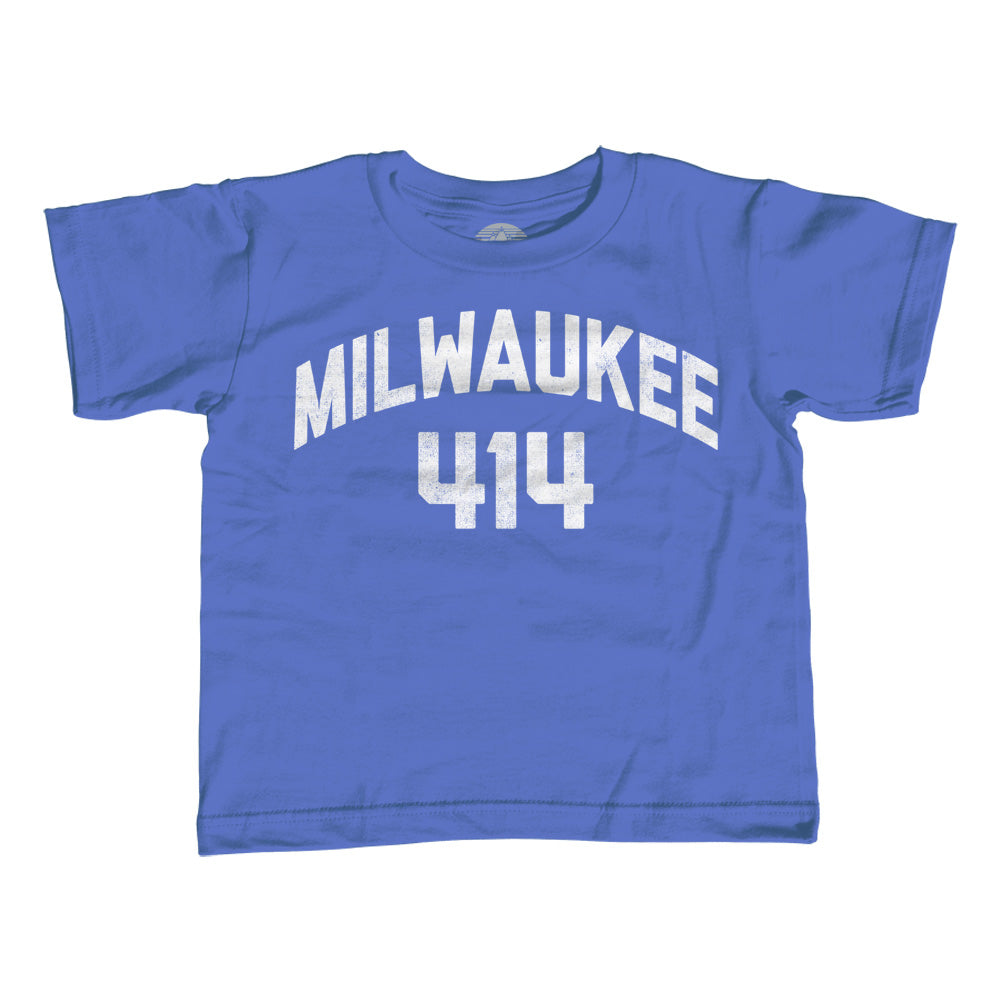 Girl's Milwaukee 414 Area Code T-Shirt - Unisex Fit