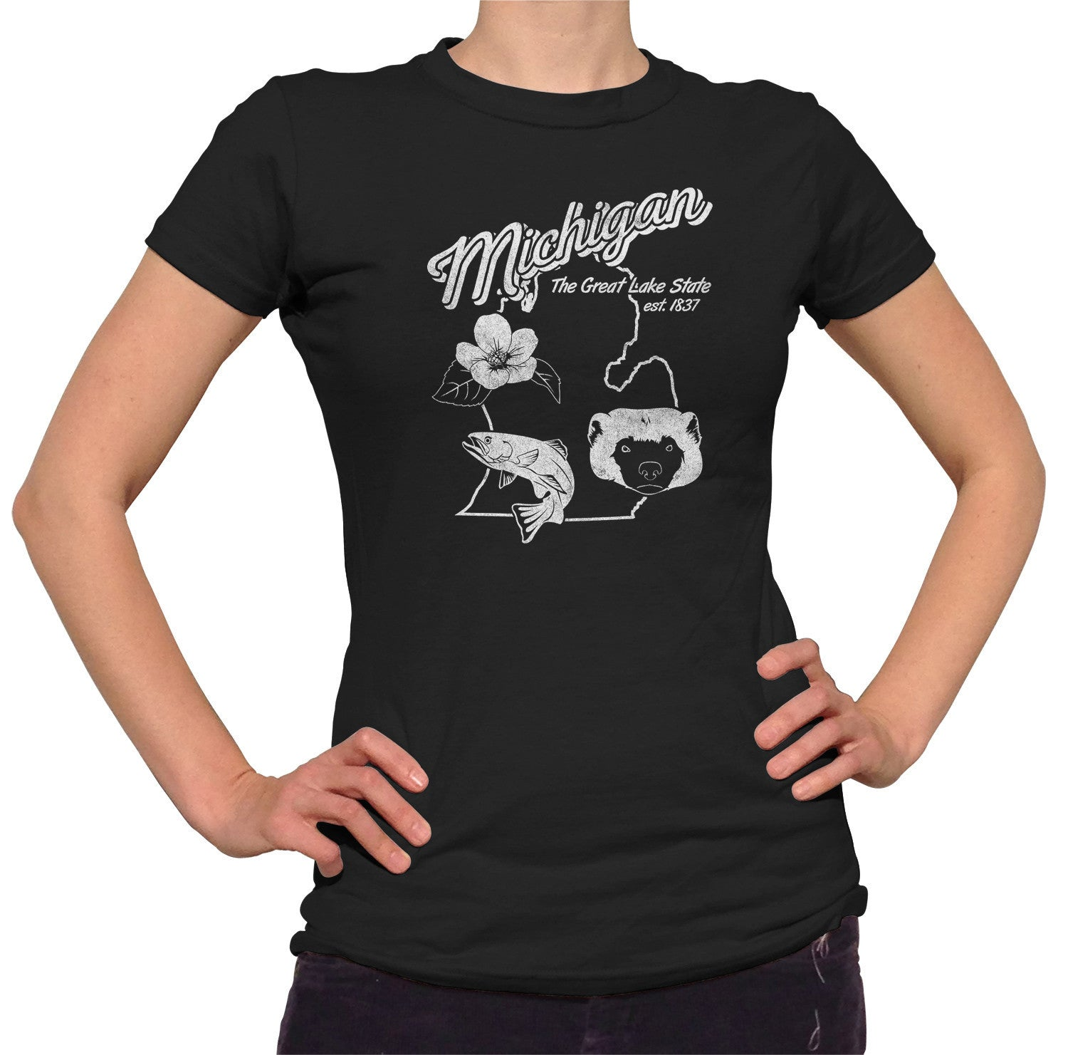 Women's Vintage Michigan State T-Shirt