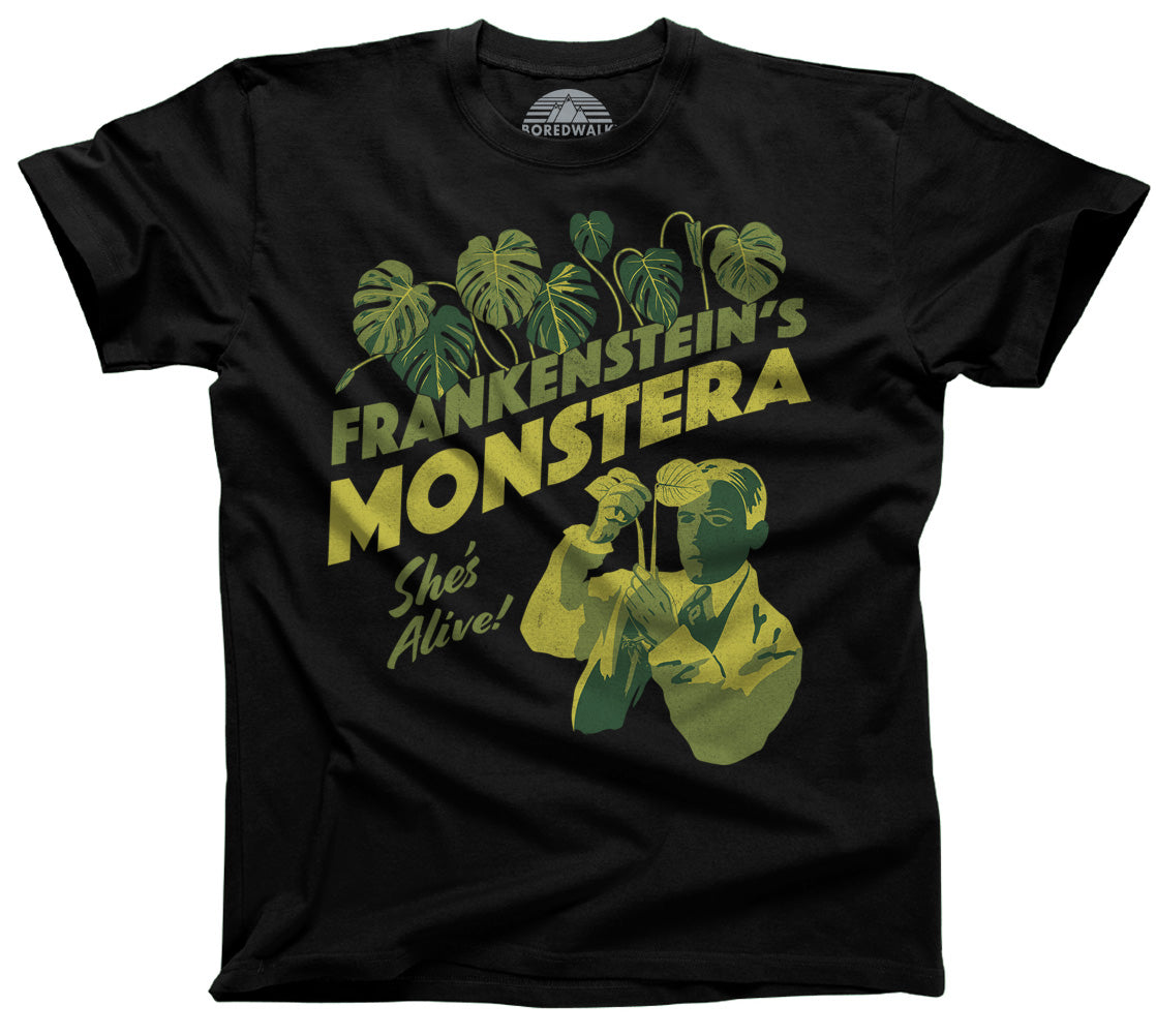 Men's Frankenstein's Monstera T-Shirt
