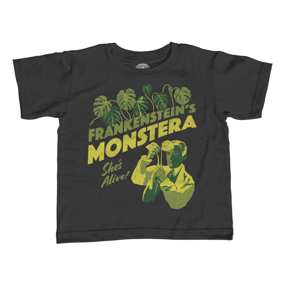 Boy's Frankenstein's Monstera T-Shirt