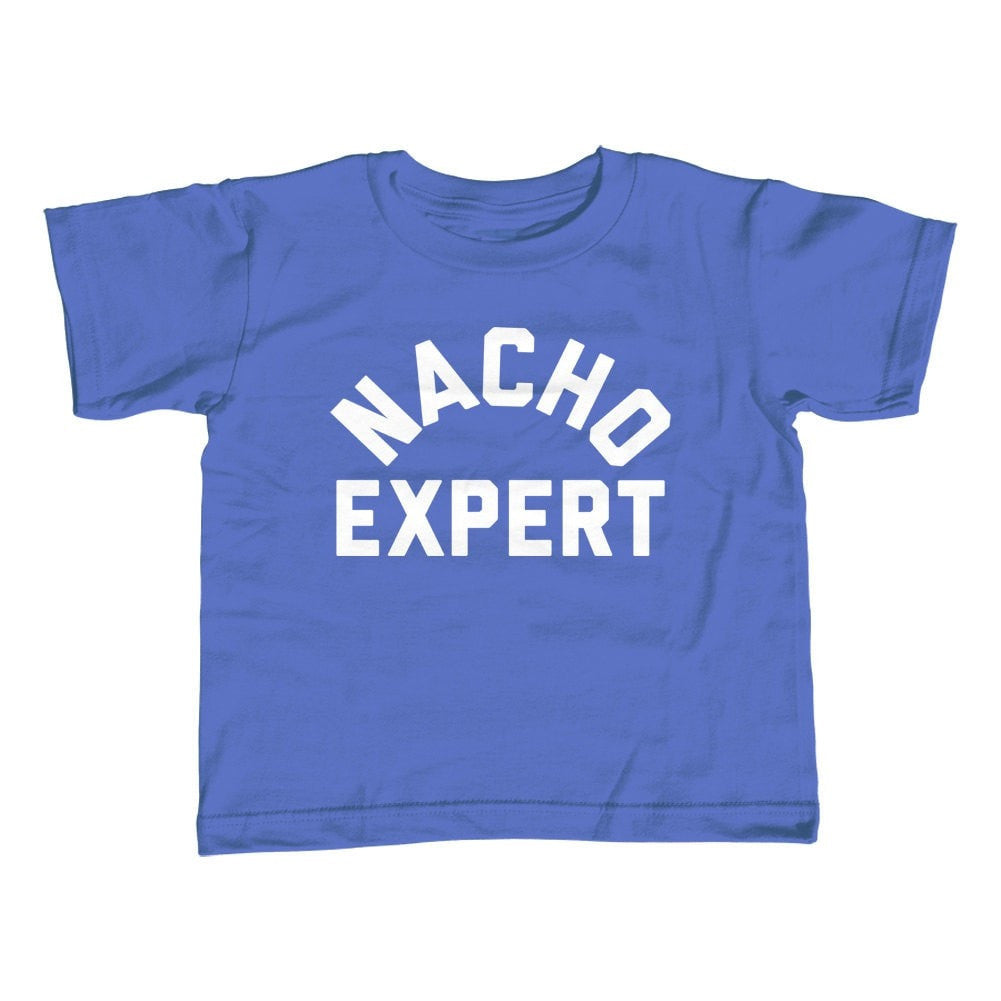Boy's Nacho Expert T-Shirt Funny Hipster Foodie