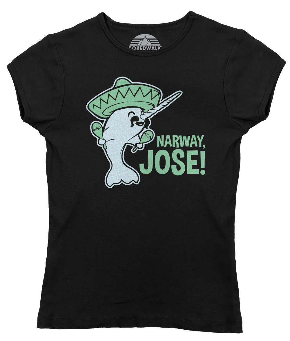 Women's Narway Jose Narwhal T-Shirt