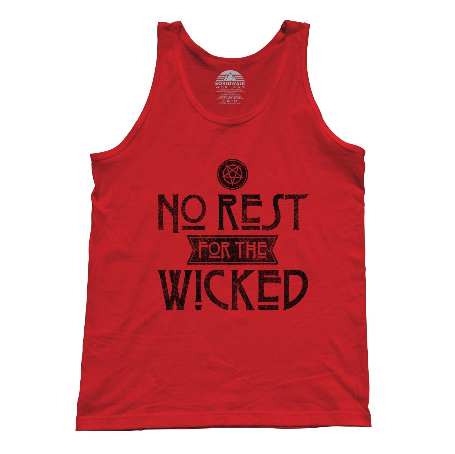 Unisex No Rest For the Wicked Tank Top