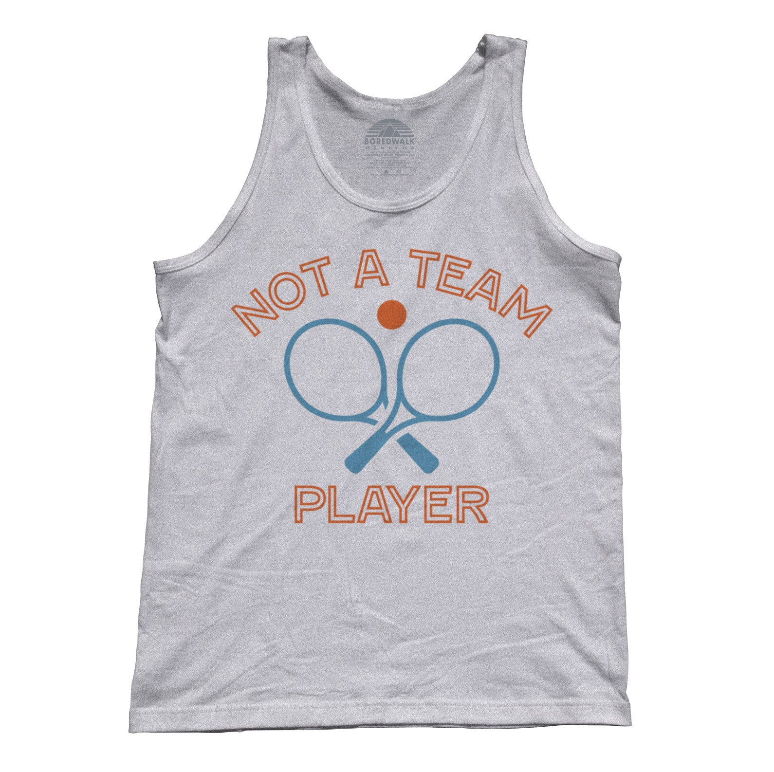 Unisex Not a Team Player Tank Top
