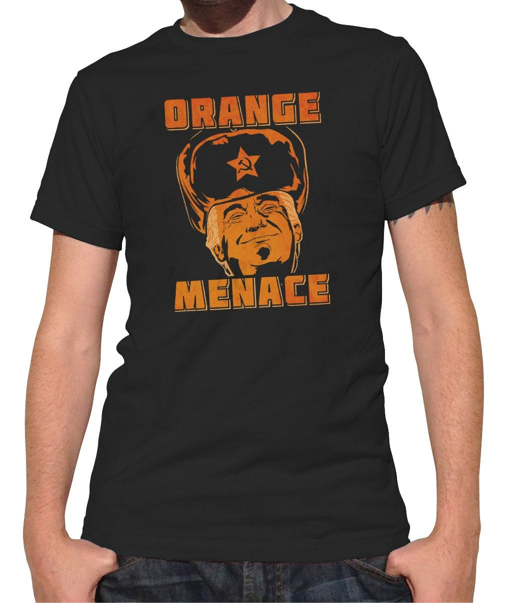 Men's Orange Menace Anti Trump T-Shirt