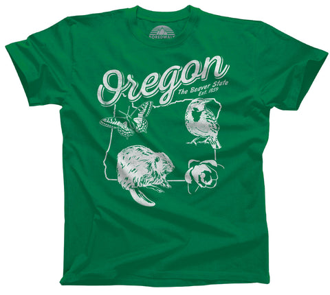 Men's Vintage Oregon T-Shirt