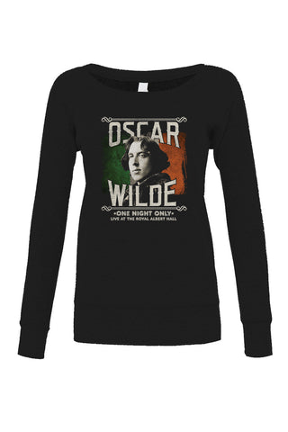 Women's Oscar Wilde Live Tour Scoop Neck Fleece