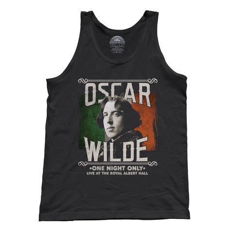 Unisex Oscar Wilde Live Tour Tank Top