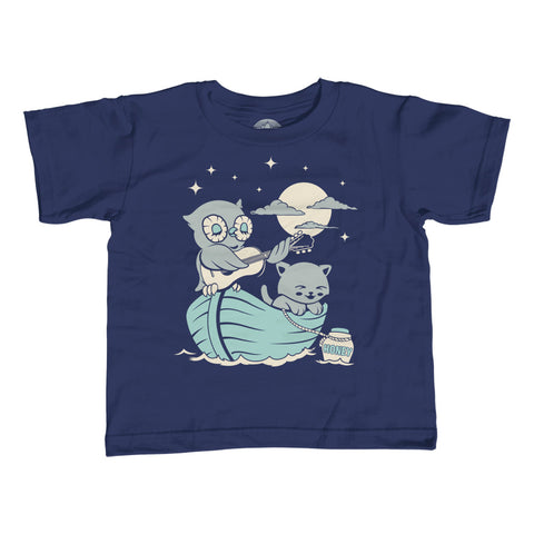 Girl's The Owl And the Pussycat T-Shirt - Unisex Fit - By Ex-Boyfriend