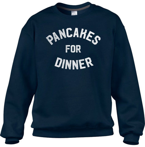 Unisex Pancakes for Dinner Sweatshirt Breakfast Brunch Foodie