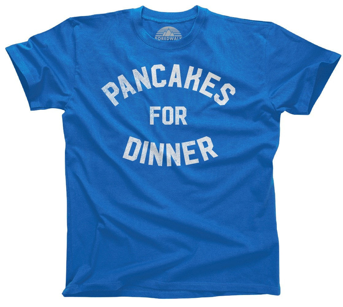 Men's Pancakes for Dinner T-Shirt Breakfast Brunch Foodie