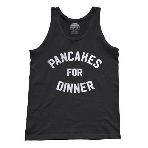 Unisex Pancakes for Dinner Tank Top Breakfast Brunch Foodie