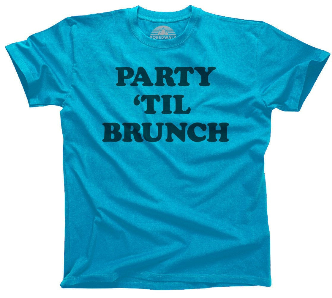Men's Party Til Brunch T-Shirt Late Night Party