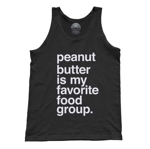 Unisex Peanut Butter is My Favorite Food Group Tank Top