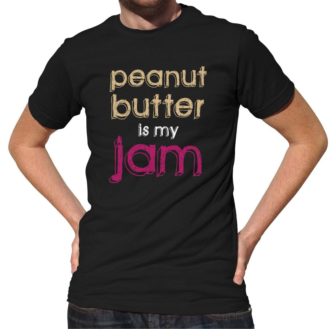 Men's Peanut Butter is My Jam T-Shirt