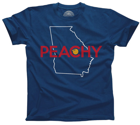 Men's Georgia is Peachy T-Shirt