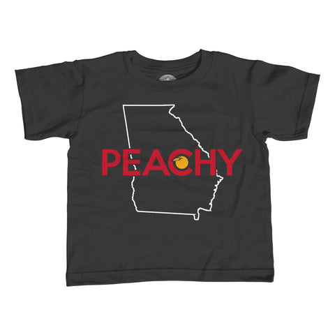 Girl's Georgia is Peachy T-Shirt - Unisex Fit