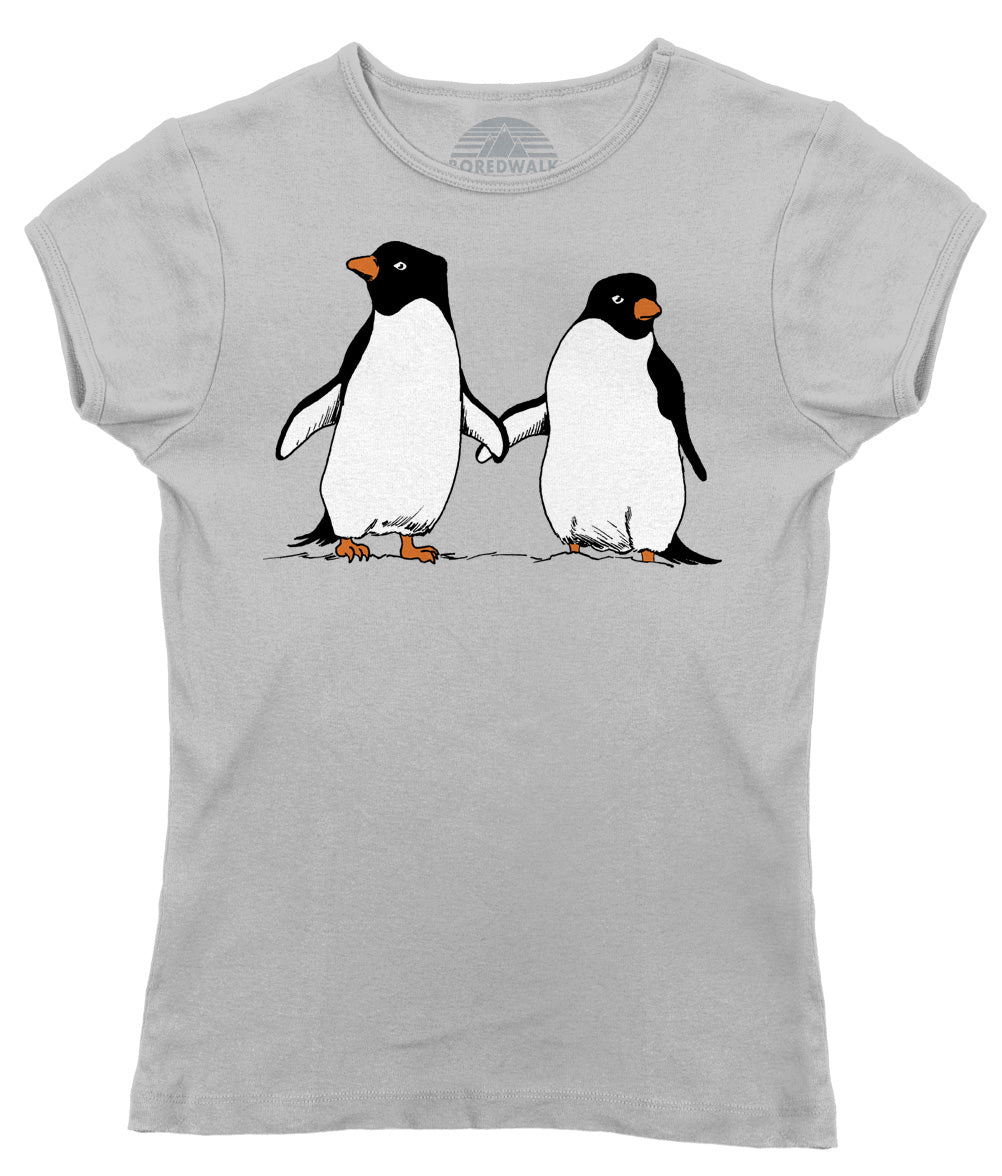 Women's Penguin Couple T-Shirt - By Ex-Boyfriend