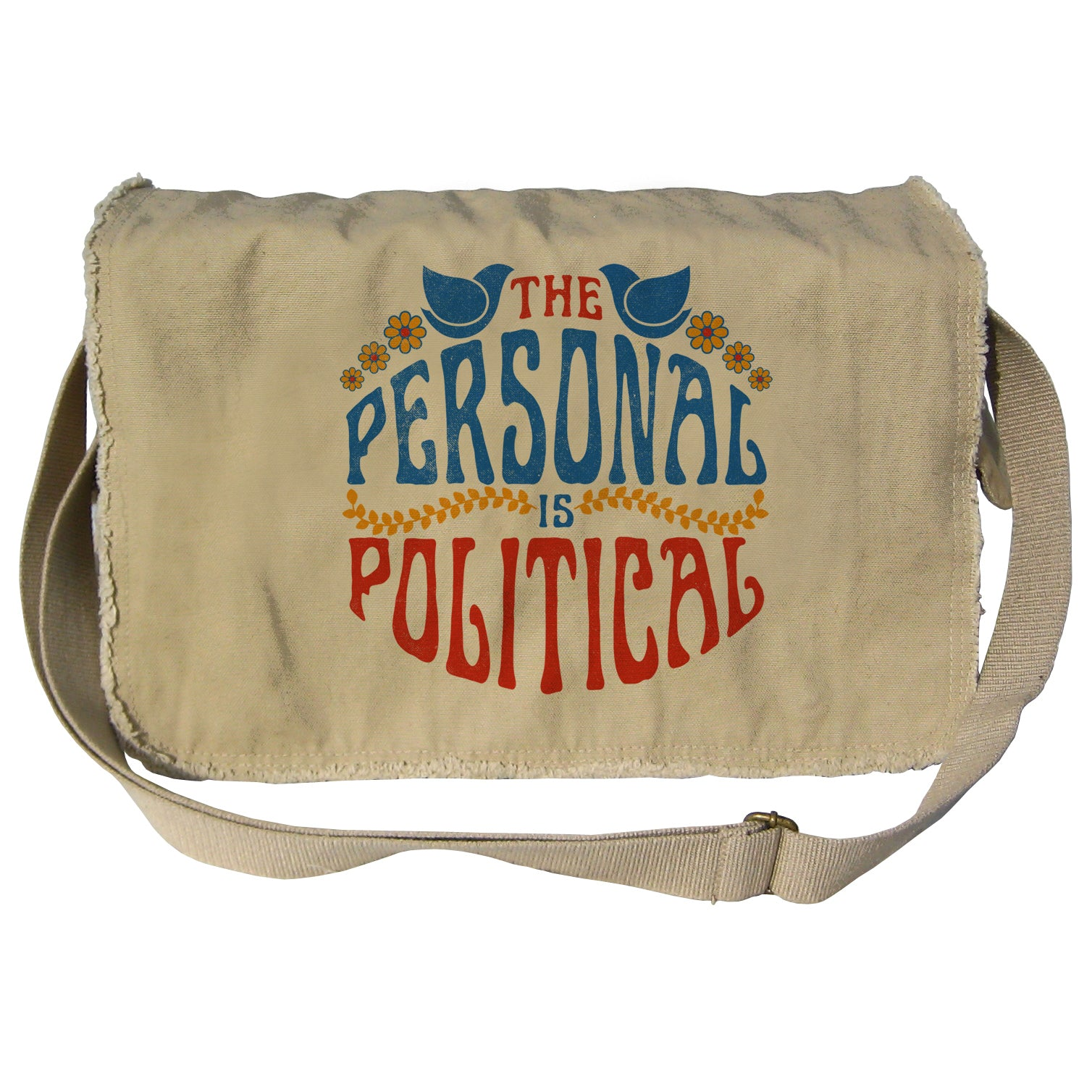 The Personal is Political Messenger Bag