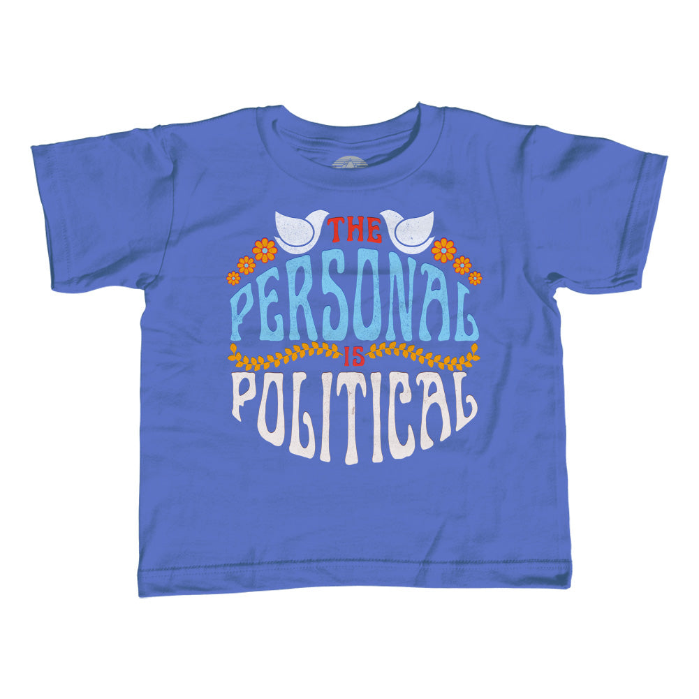 Boy's The Personal is Political T-Shirt