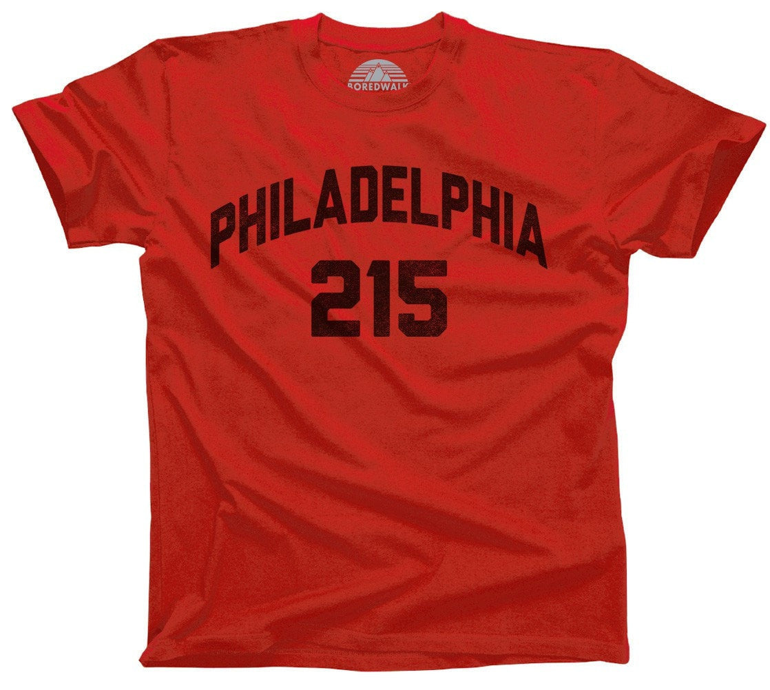 Men's Philadelphia 215 Area Code T-Shirt