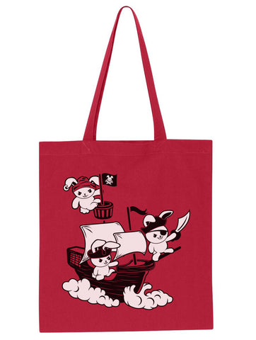Pirate Bunnies Tote Bag - By Ex-Boyfriend