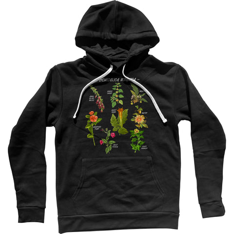 Psychedelica Botanica Unisex Hoodie