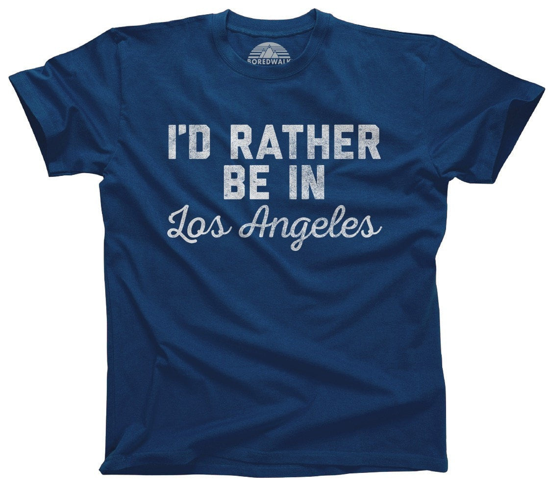 Men's I'd Rather Be in Los Angeles T-Shirt