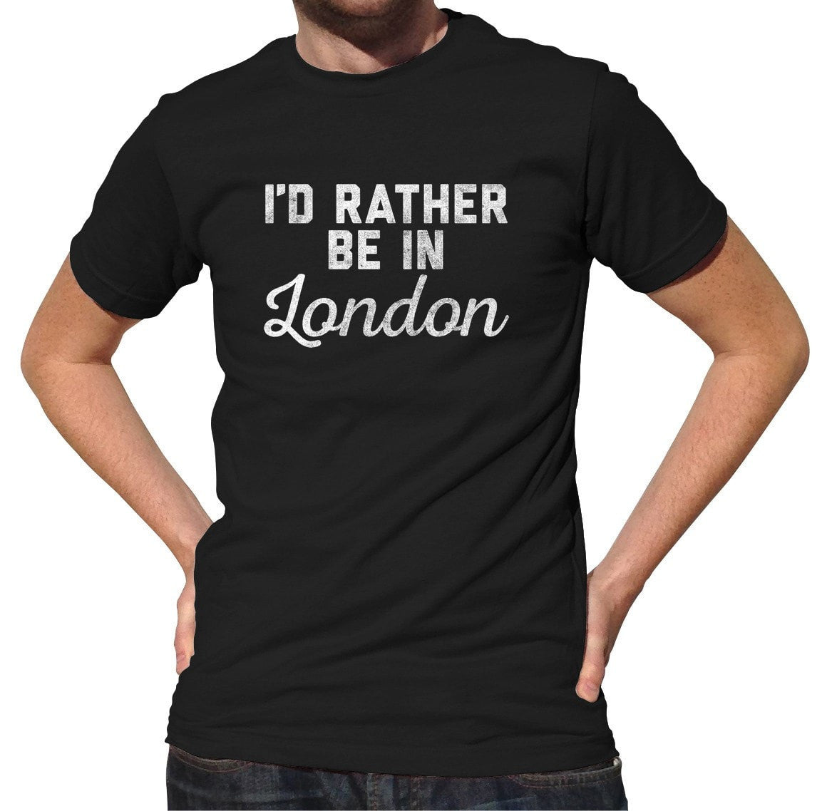 Men's I'd Rather Be in London T-Shirt