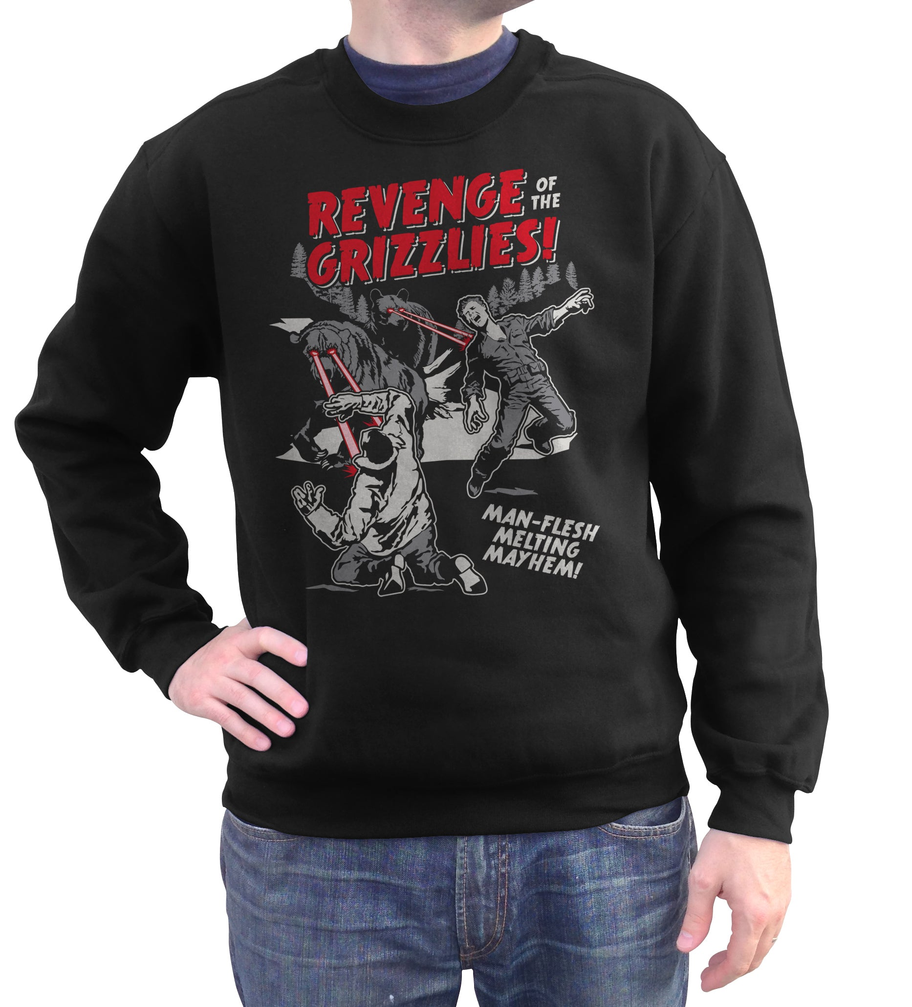 Unisex Revenge of the Grizzlies Sweatshirt - By Ex-Boyfriend