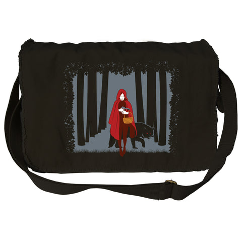 Red Riding Hood Messenger Bag - By Ex-Boyfriend